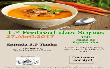 1.º Festival das Sopas