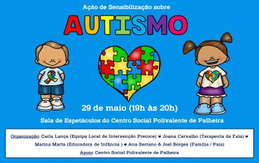 Ação Sensibilização sobre Autismo