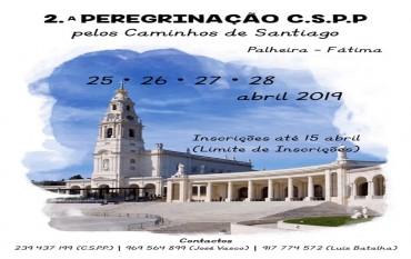 2ª Peregrinação  a Fátima pelos caminhos de Santiago